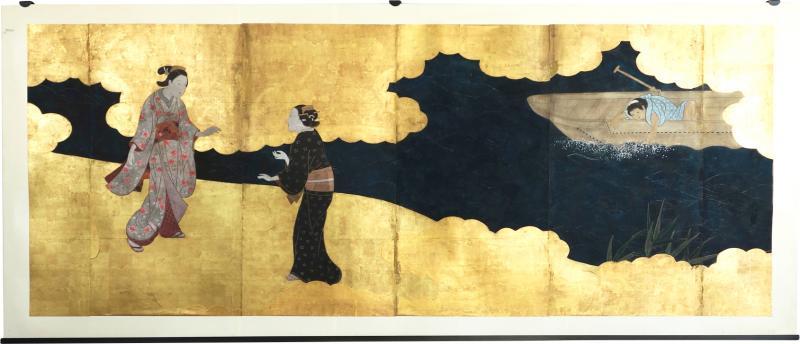 Edo Period Screen