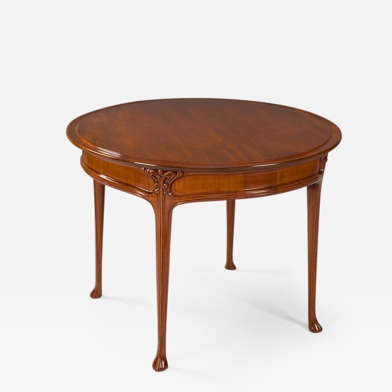 Edouard Colonna French Art Nouveau Side Table by Edouard Colonna