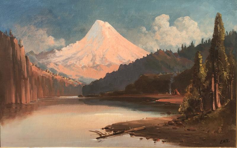 Edward Hill Mount Hood Oregon