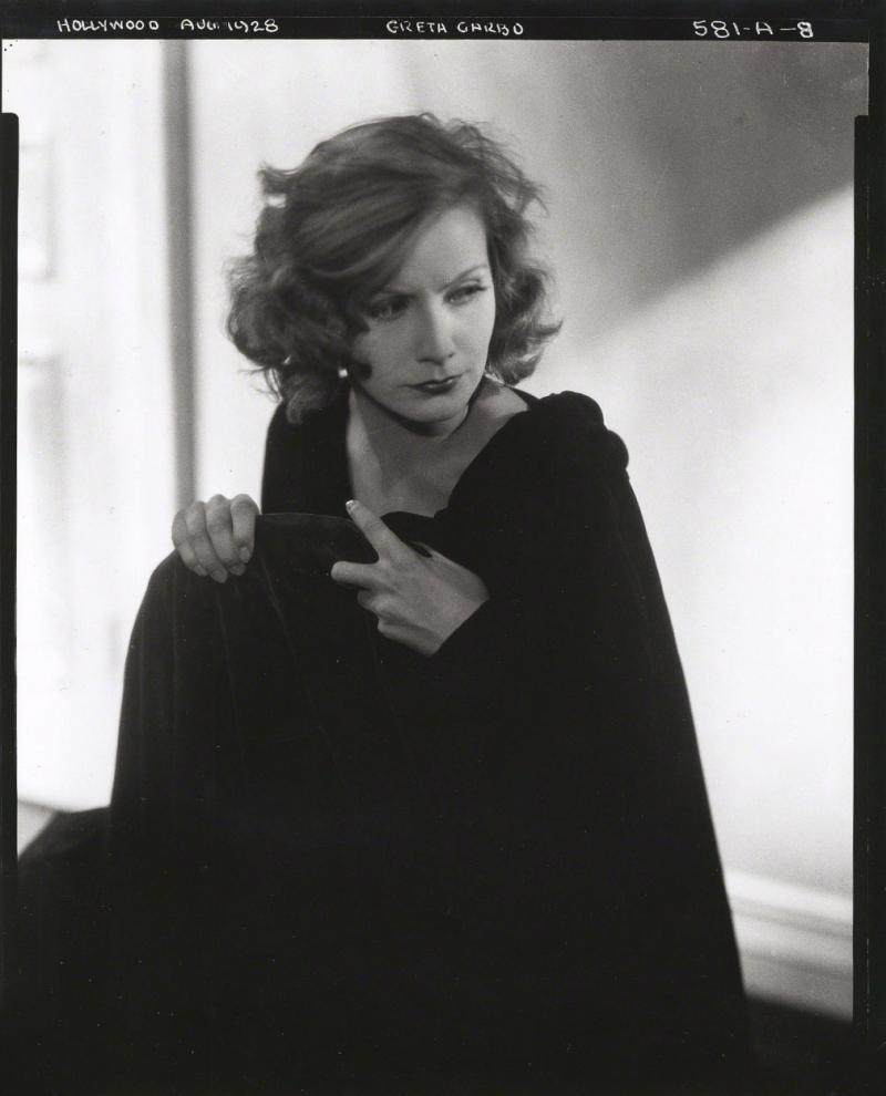 Edward Jean Steichen Greta Garbo Hollywood California 1928