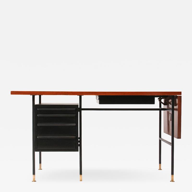 Edward Wormley Drop Leaf Desk Maunfactured by Dunbar