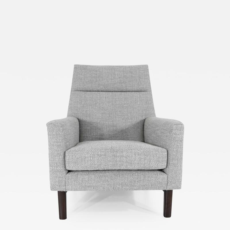 Edward Wormley Dunbar Lounge Chair in New Upholstery