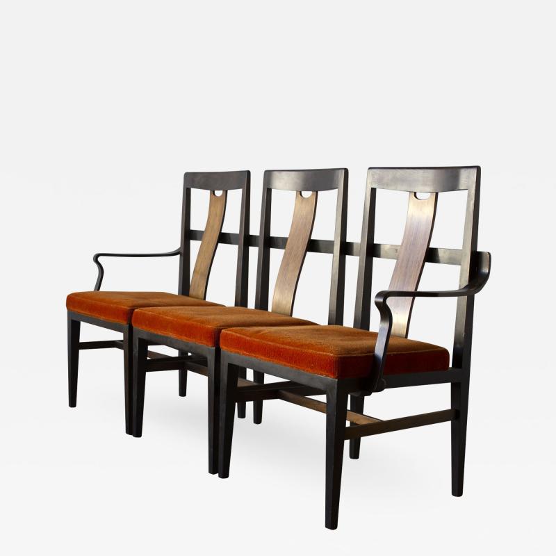 Edward Wormley Edward Wormley 3 Seat Bench in Mahogany Dunbar Custom Order