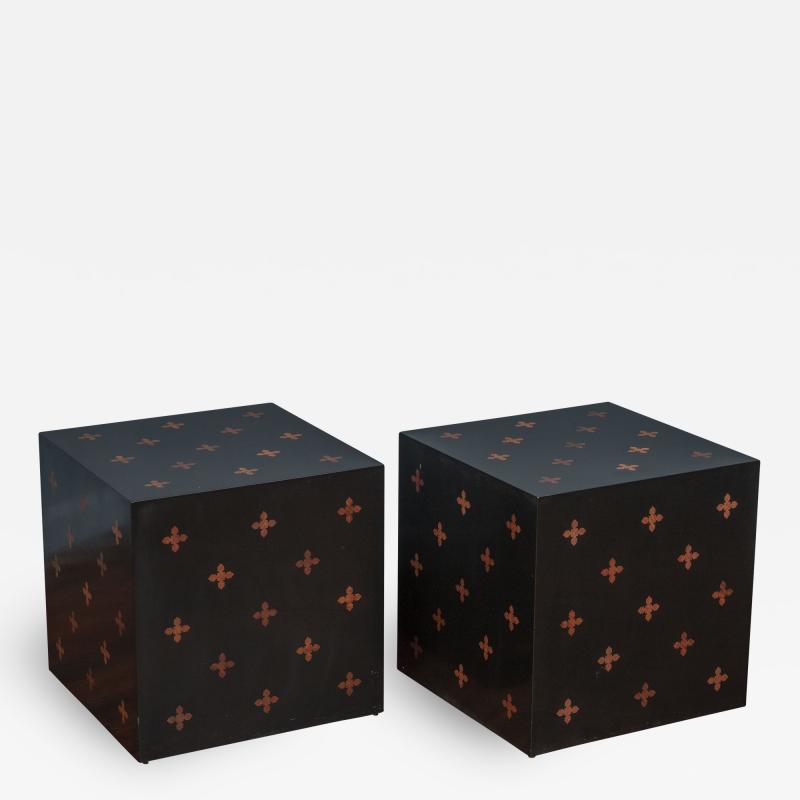 Edward Wormley Edward Wormley Design Cube Tables for Dunbar