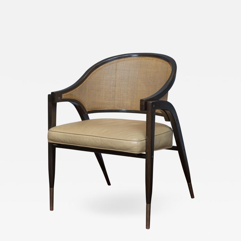Edward Wormley Edward Wormley for Dunbar Captains Chair Model 5480