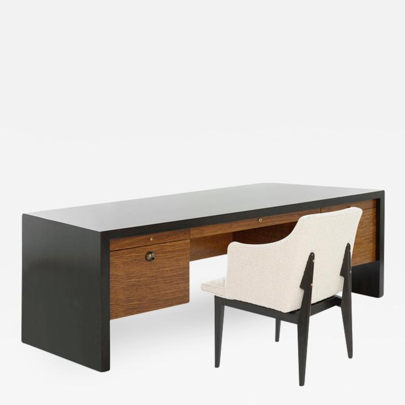 Edward Wormley Edward Wormley for Dunbar Executive Desk and Chair Set C 1950s