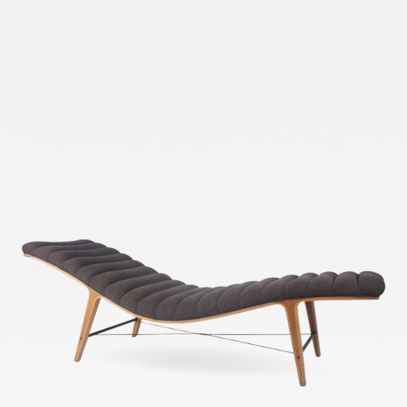 Edward Wormley Edward Wormley for Dunbar Listen to Me Chaise