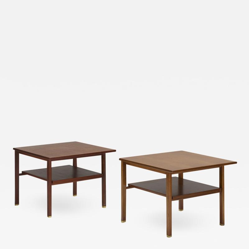Edward Wormley Edward Wormley occasional tables pair