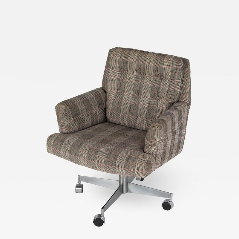 Edward Wormley Executive office chair by Edward Wormley for Dunbar circa 1960s