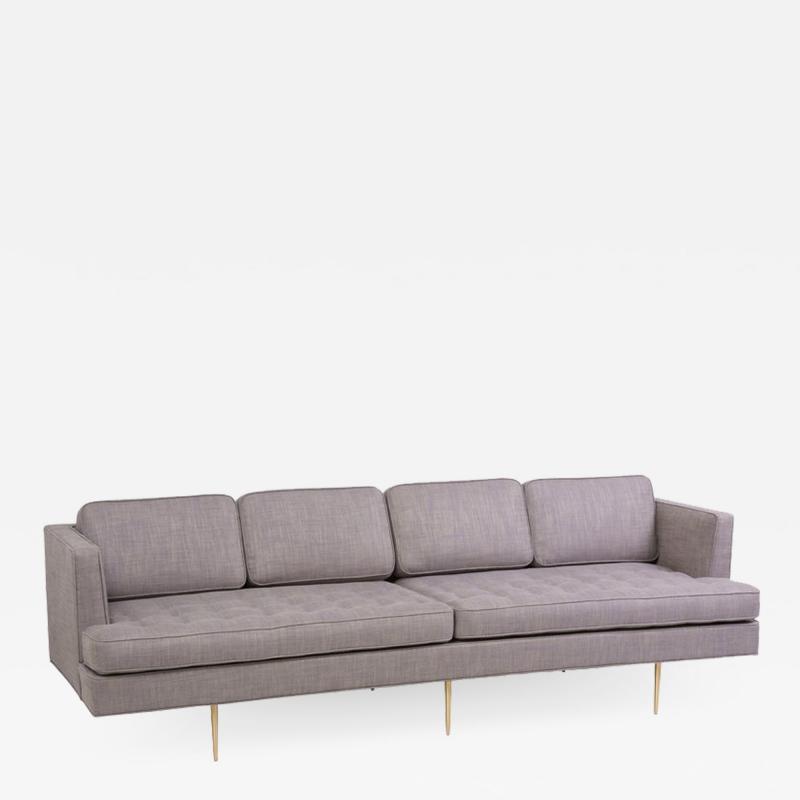 Edward Wormley Newly Upholstered Sofa 4906 by Edward Wormley for Dunbar US