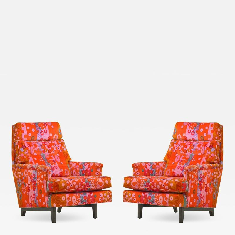Edward Wormley Pair of Edward Wormley for Dunbar Lounge Chair
