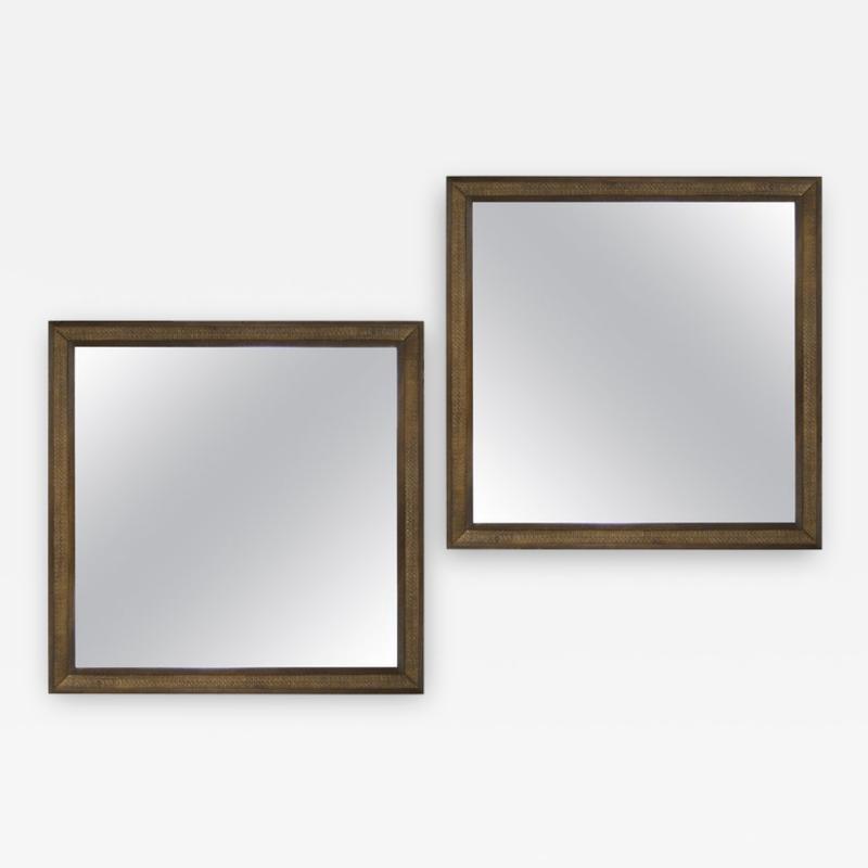 Edward Wormley Set of Matching Mirrors by Edward Wormley for Dunbar 1950s