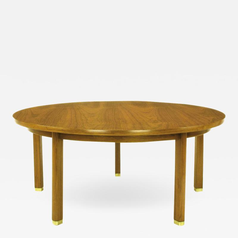 Edward Wormley Uncommon Edward Wormley Five Leg Walnut Coffee Table for Dunbar