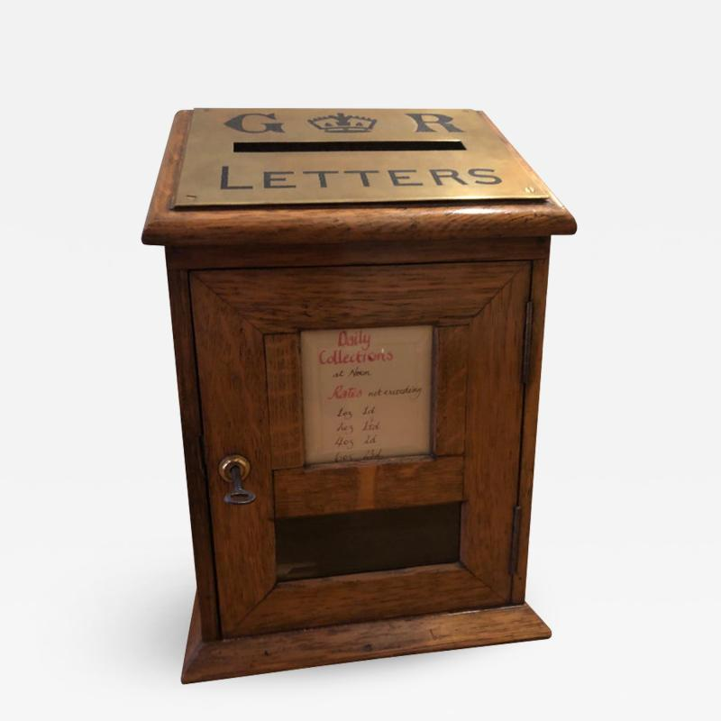 Edwardian Diminutive Post Box Early 20th Century