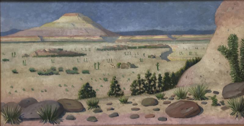Edwin Willard Deming Arizona Desert
