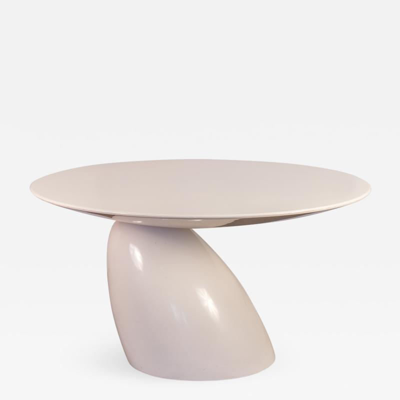 Eero Aarnio Parabel Round Dining Table by Eero Aarnio