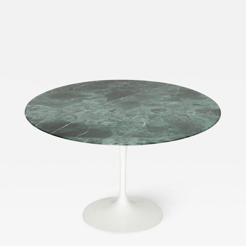 Eero Saarinen Eero Saarinen Dining table Knoll International marble Verdi Alpi 70s