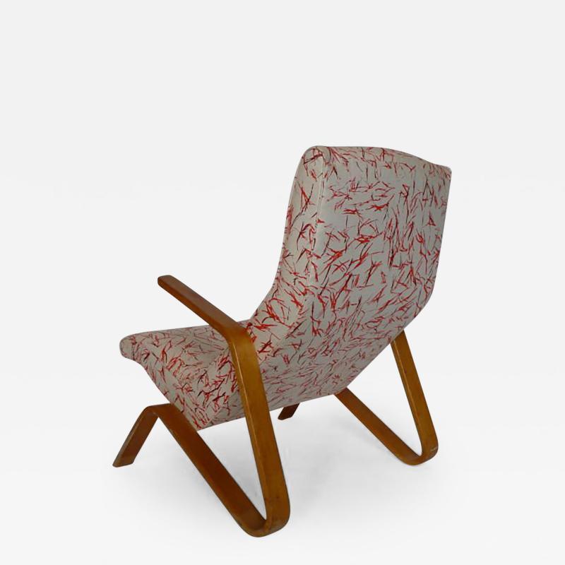Eero Saarinen Eero Saarinen Grasshopper Chair With Vintage Knoll Fabric