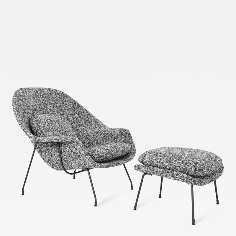 Eero Saarinen Eero Saarinen for Knoll Womb Chair and Ottoman