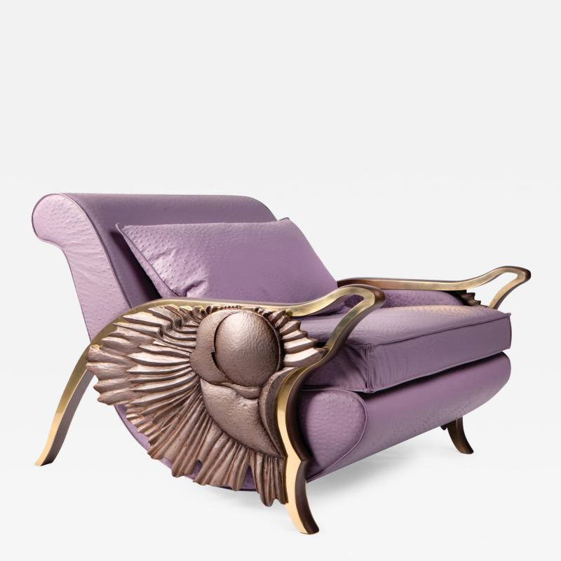 Egle Mieliauskiene Eternity Lounge Armchair