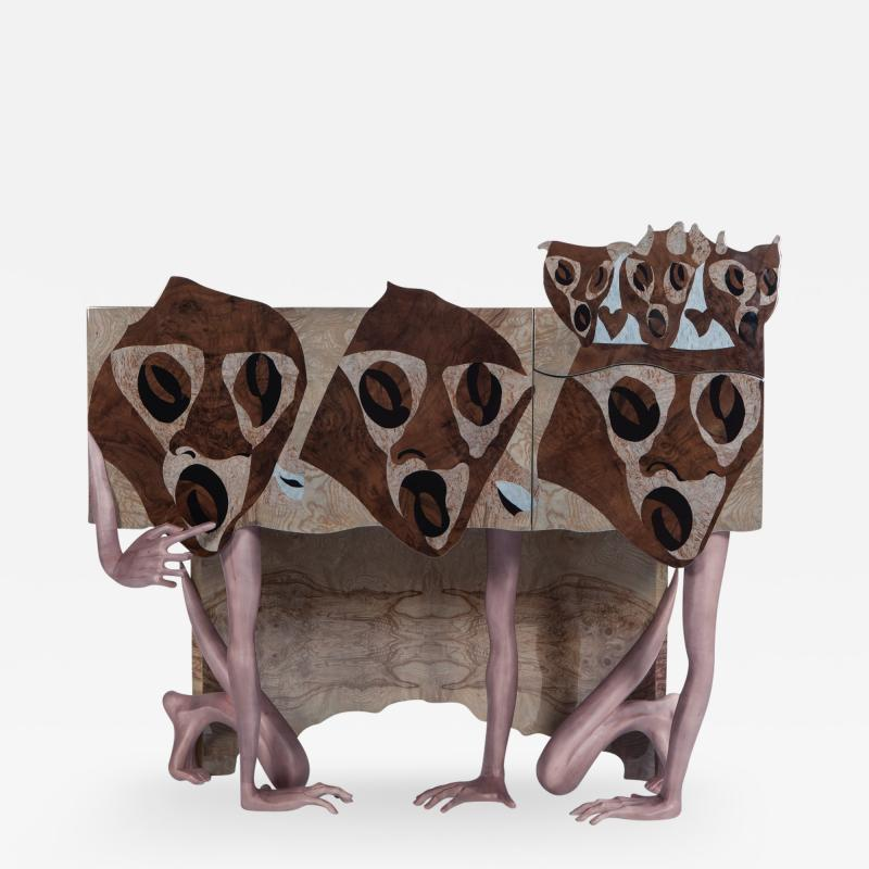 Egle Mieliauskiene Three kings Side Table