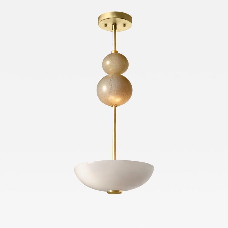 Eidos Glass AURUM Sphere Stack Ceiling Lamp