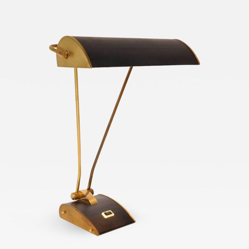 Eileen Gray 1940s Desk Lamp by Eileen Gray for Jumo France