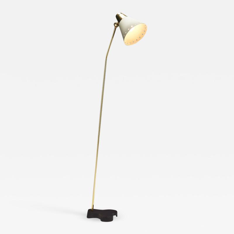 Einar Backstrom Rare Einar B ckstr m EB 5336 Floor Lamp Sweden 1950s