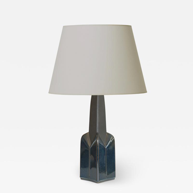 Einar Johansen Architectural Post Modern table lamp by Einar Johansen for S holm Stent j