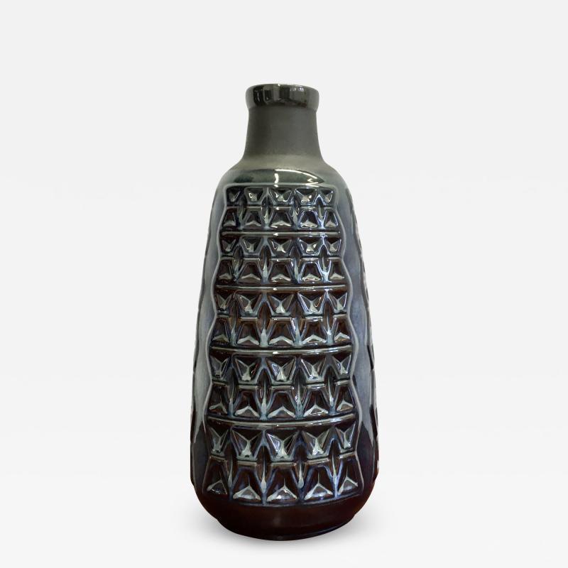 Einar Johansen Midcentury Danish Stoneware Vase by Einar Johansen for Soholm