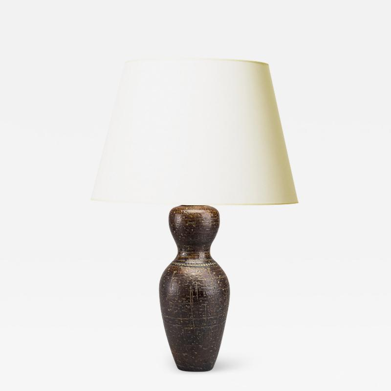 Eje Oberg Mid Century Modern Lamp by Eje Bodil for Gustavsberg
