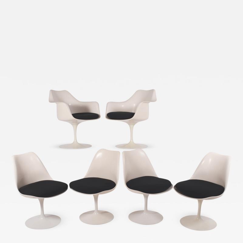 Eliel Saarinen Eliel Saarinen Tulip dining chairs for Knoll International