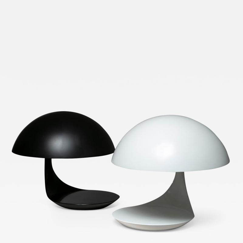 Elio Martinelli Pair of Cobra Table Lamps by Elio Martinelli for Martinelli