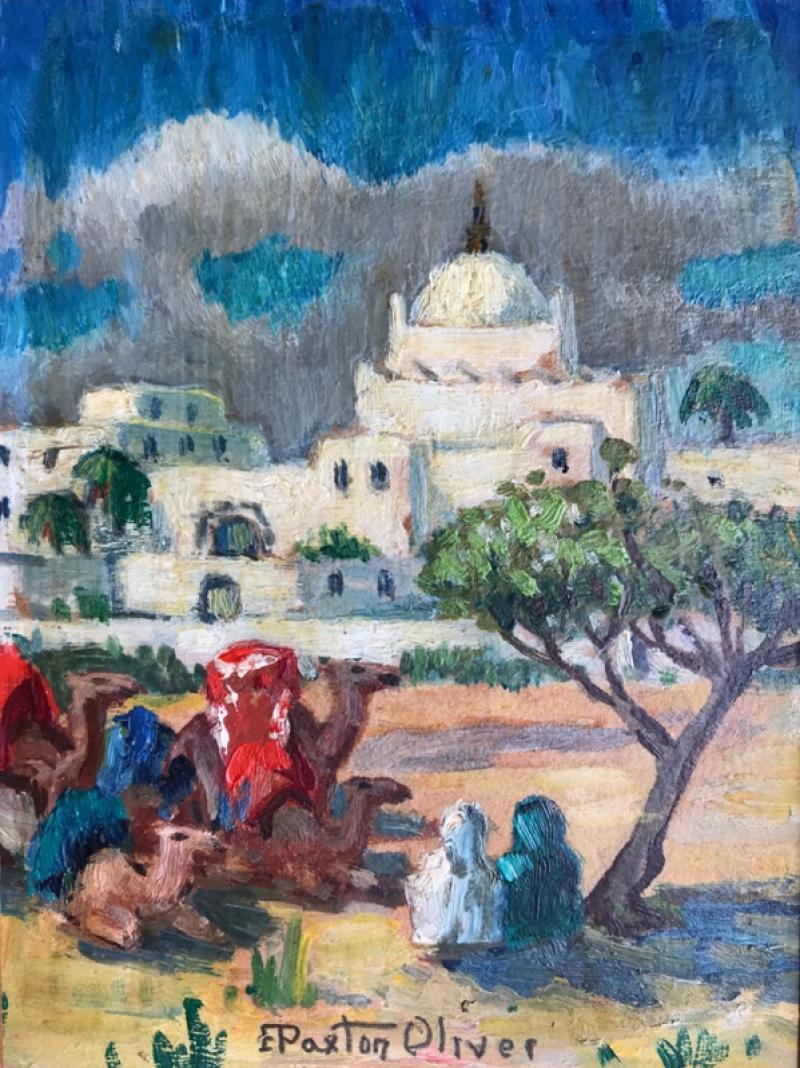Elizabeth Paxton Oliver Resting the Camels