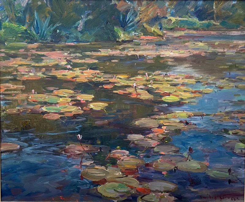 Emile Albert Gruppe Lily Pond