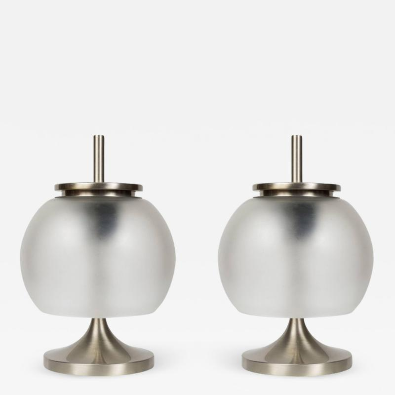 Emma Gismondi Schweinberger Pair of 1962 Emma Gismondi Chi Table Lamps for Artemide