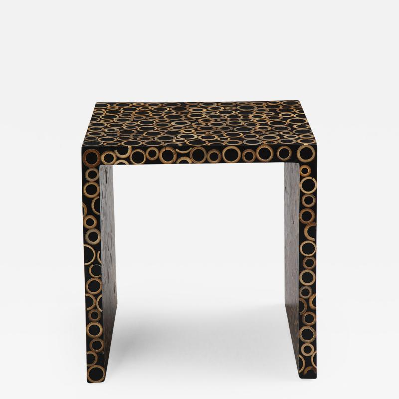 End cut Bamboo Tables