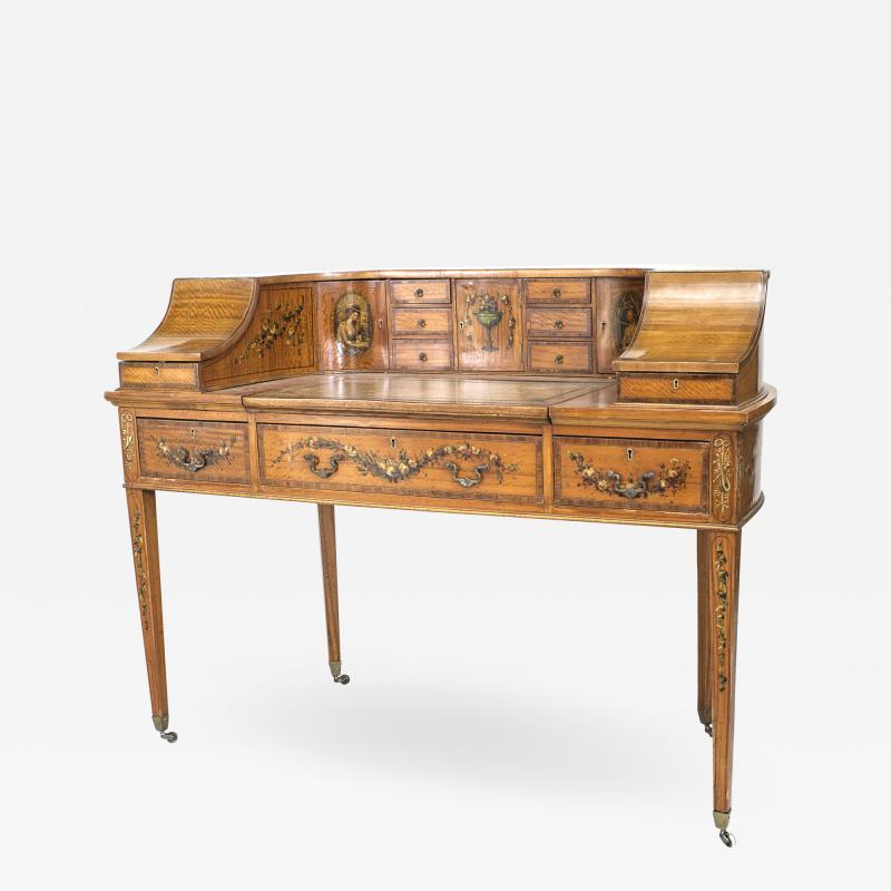 English Adam Satinwood Carlton House Desk