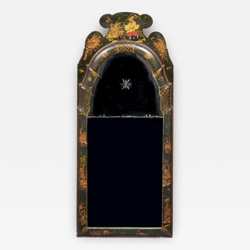 English Chinoiserie Mirror
