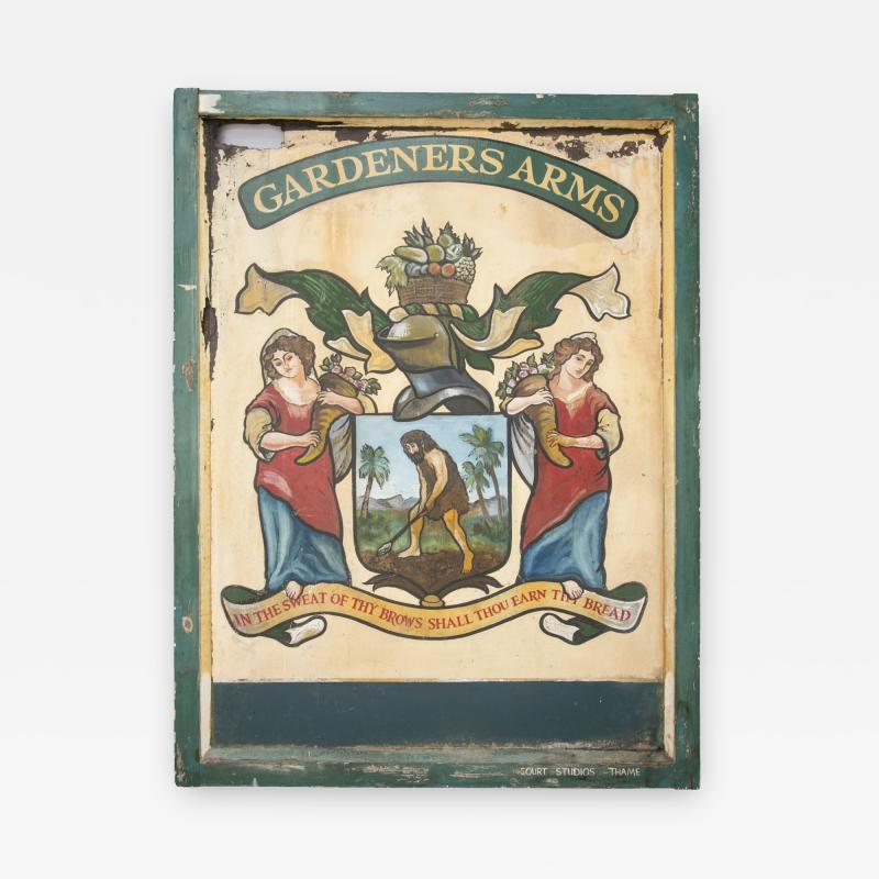 English Pub Sign Gardeners Arms