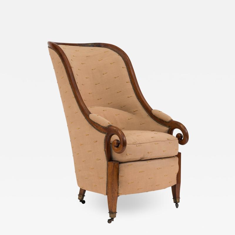 English Regency Club Chair