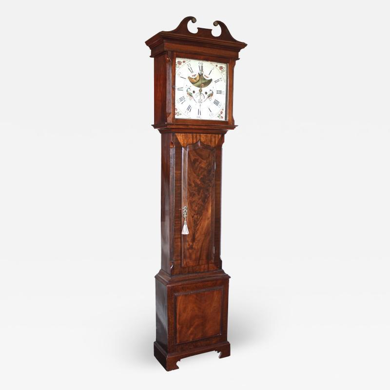 English Regency Tall Case Clock