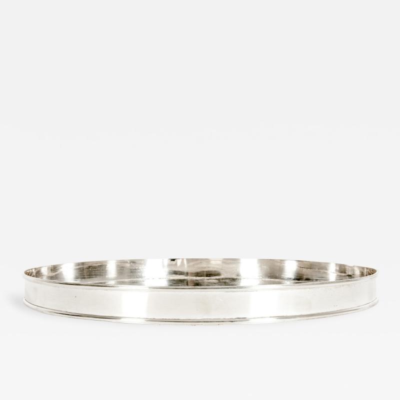 English Sheffield Silver Plated Barware Tableware Tray