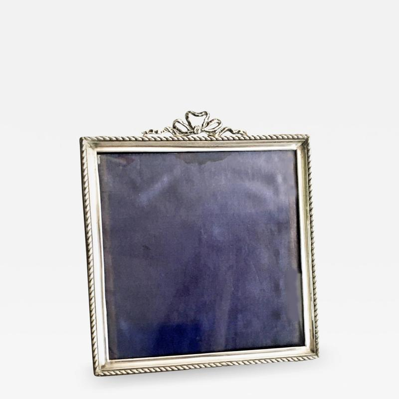 English Sterling Silver Picture Frame 1927