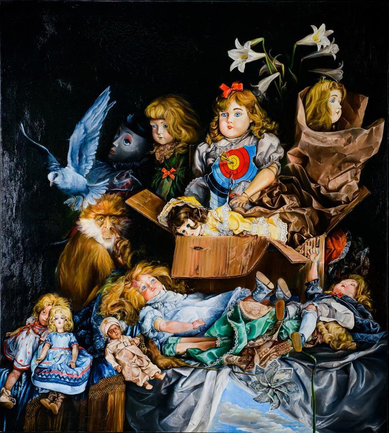 Enrique Senis Oliver Painting by Enrique Senis Oliver