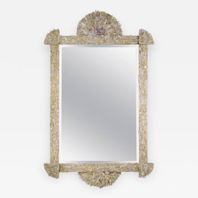 Enzo Missoni One of a Kind Rock Crystal Mirror