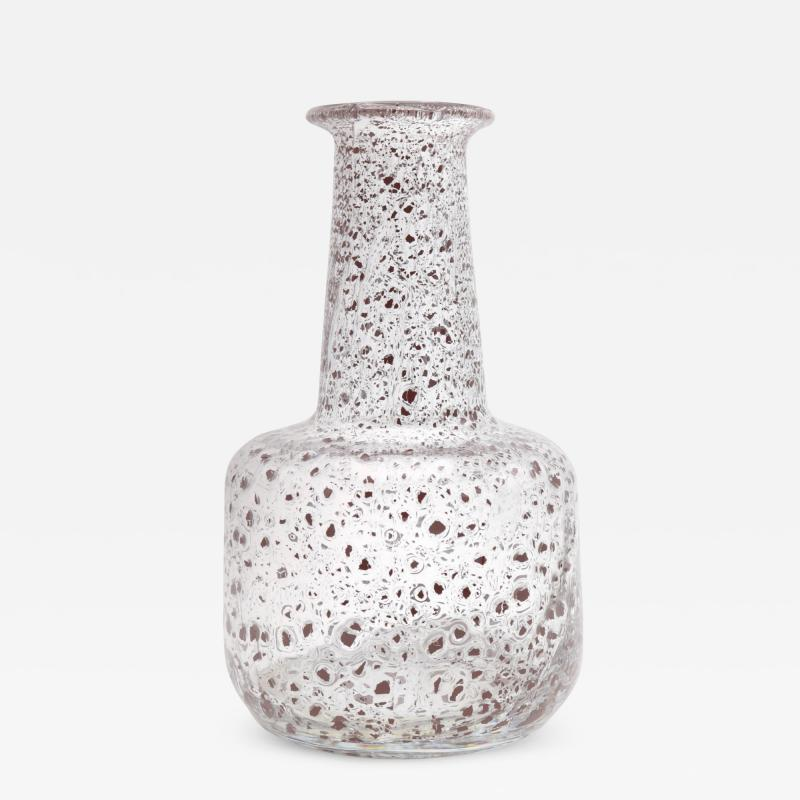Ercole Barovier Porpora Murano Art Glass Vase by Ercole Barovier