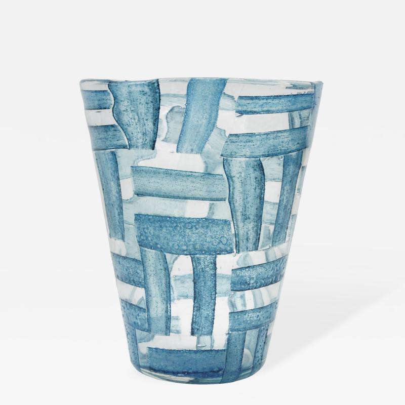 Ercole Barovier Rare Hand Blown Alterni Vase by Ercole Barovier for Barovier Toso