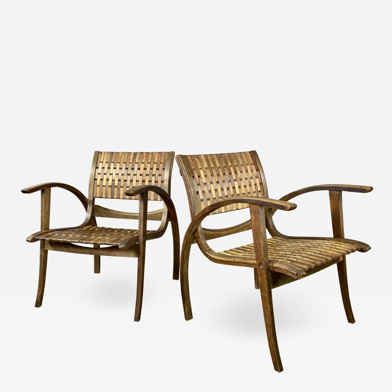 Erich Dieckmann 1930s Erich Dieckmann Bauhaus Chair Gelenka Germany