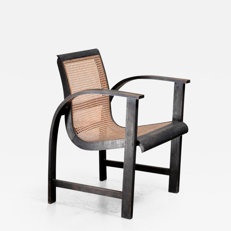 Erich Dieckmann Erich Dieckmann bentwood side chair Germany circa 1930
